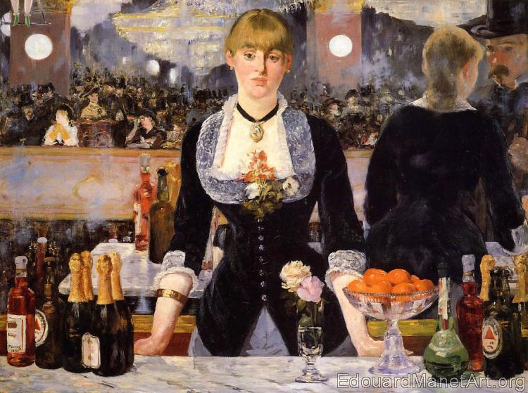 A Bar at the Folies-Bergere (A Bar at the Crazy Shepherdess)