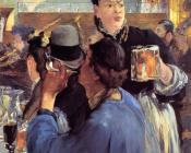 Corner of a Cafe Concert - Edouard Manet