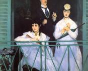 Edouard Manet : The Balcony
