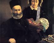 M. and Mme Auguste Manet