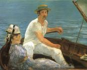 Edouard Manet : Boating