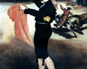 Edouard Manet : Mlle Victorine Meurent in the Costume of an Espada